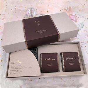 领5元券购买韩国正品 雪花秀宫中蜜皂 密皂套盒装 洁面皂 qu痘控油清洁100g*2