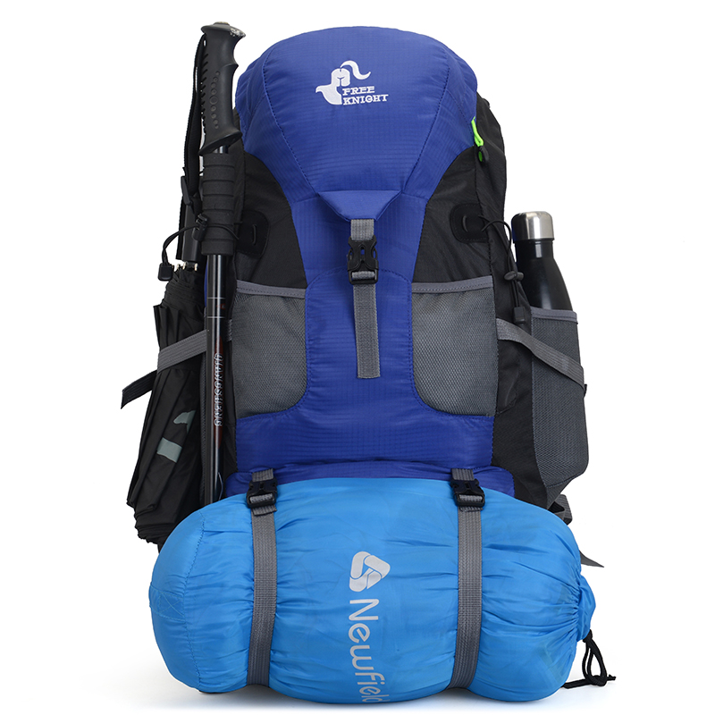 Free rider outdoor sports 50L large capacity mountaineering bag Camping Hiking Backpack student schoolbag