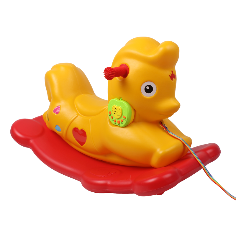 兒童木馬塑料搖馬玩具大號加厚寶寶搖搖木馬搖椅車室內嬰兒小搖馬