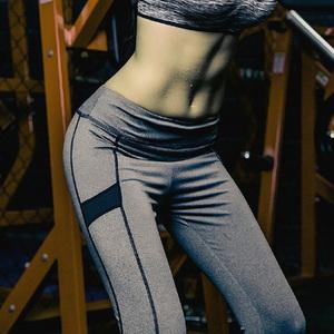 春夏健身跑步瑜伽长裤户外速干运动服跑步跳操高弹力女士紧身提臀