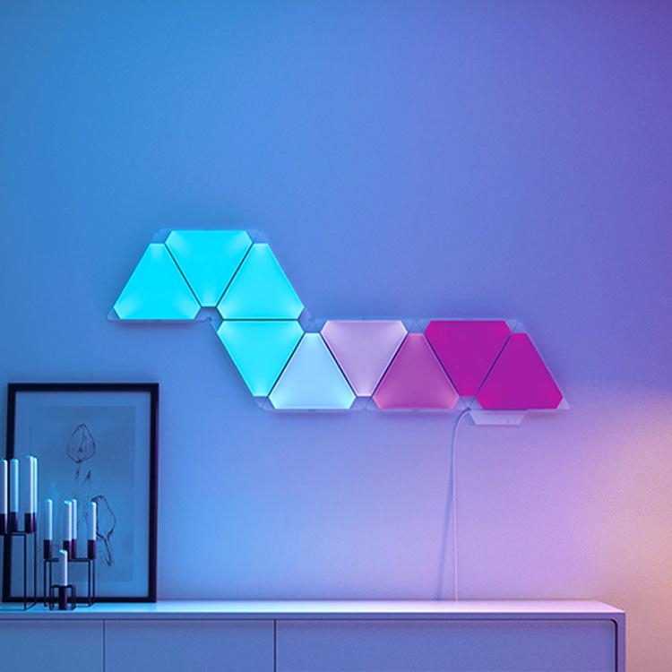 nanoleaf绿诺智能三角奇光板homekit天猫精灵小爱同学米家量子灯