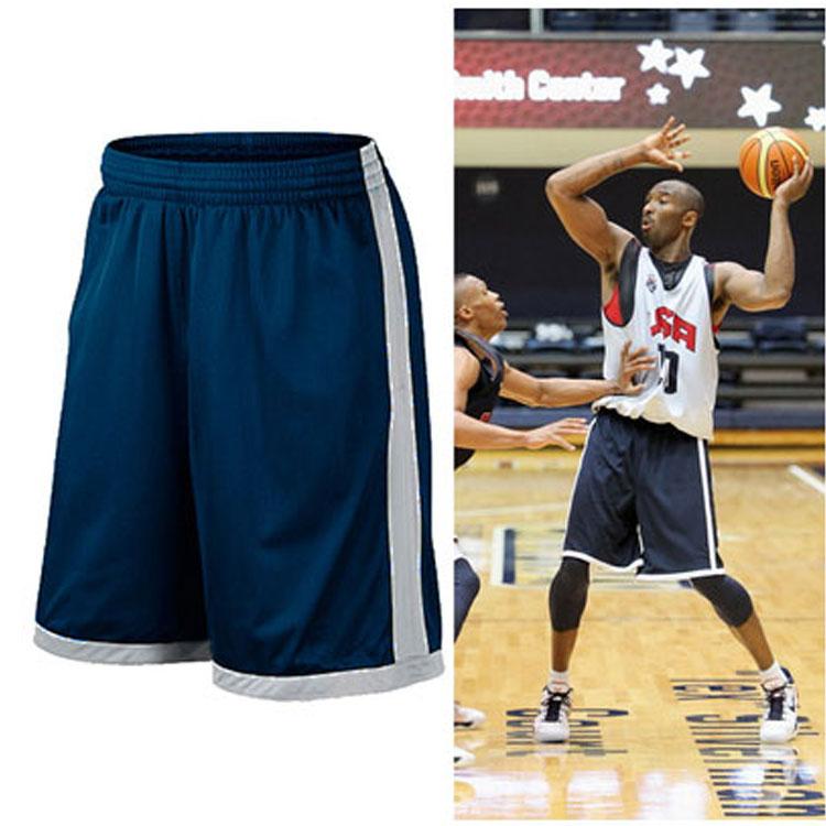 Баскетбол брюки американской команды движение баскетбол шорты мужчина движение шорты обучение горячей тело в корзину быстросохнущие фитнес бег брюки