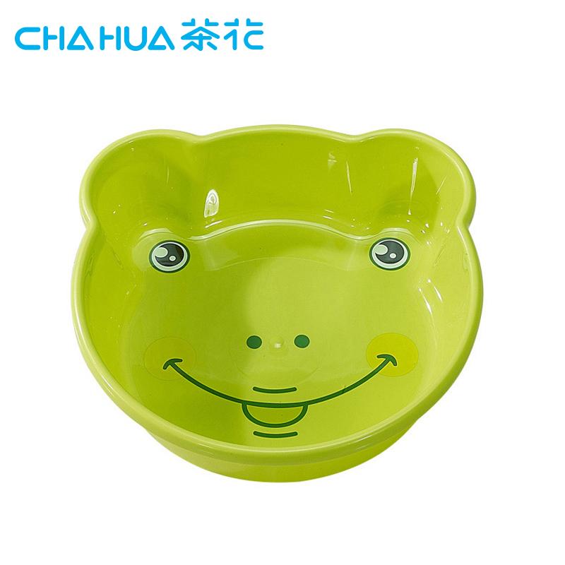 茶花卡通婴儿洗脸盆多用盆时尚加厚塑料盆新生儿宝宝脸盆家用盆