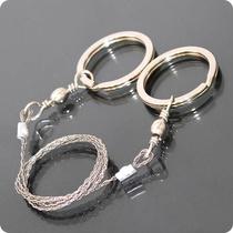 户外锯子铁丝单指万能钢丝锯线锯多用锯绳链条锯装备家用野外手拉