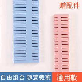 抽屉收纳分隔塑料分隔板盒分割神器隔断内衣袜子自由组合分格整理