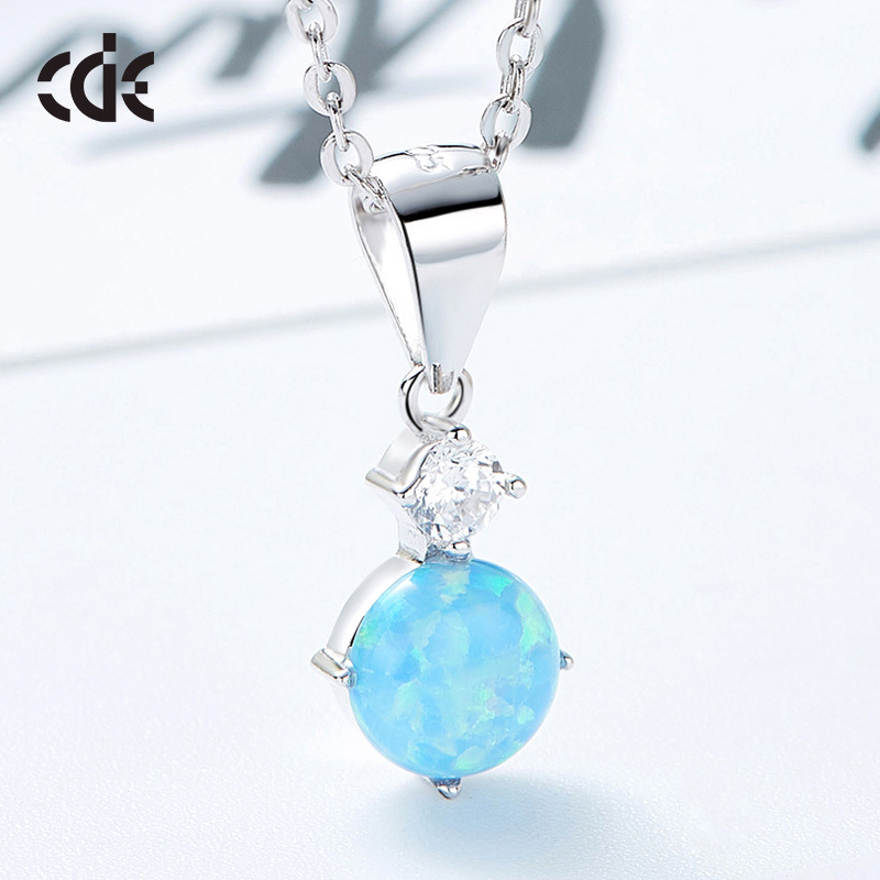 Sidale seven color Aobao Aobao fashion womens S925 Sterling Silver Necklace Pendant head ornament gift for girlfriend