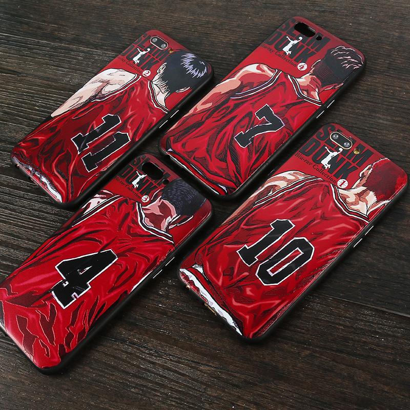 灌篮高手ONEplus一加6手机壳六篮球卡通动漫童年1+5t保护套男款潮