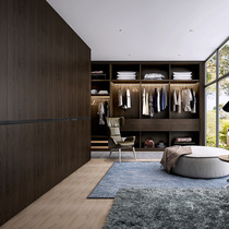 Maggie Whole House Full wardrobe custom modern simple American bedroom walk-in door cloakroom custom