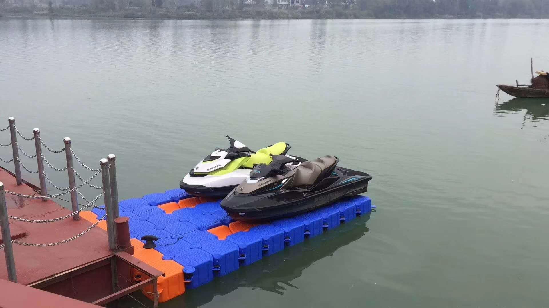Воды верх Комплект для причала для моторных лодок с платформой комплект