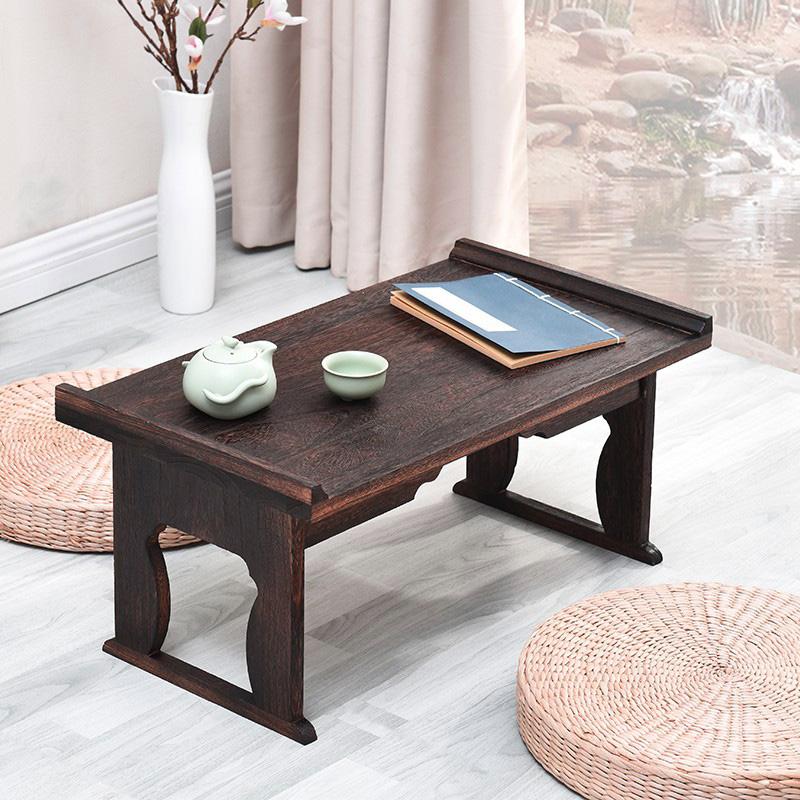 Бесплатная доставка сжигать павлония деревянные кровати на ноутбук компьютерный стол складной стол кровать стол небольшой таблица татами эркер стол