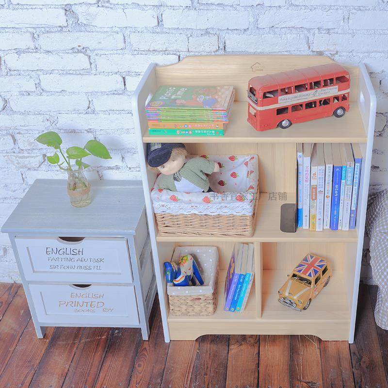 Sx006 scholarly IKEA childrens bookshelf baby bookshelf solid wood bookshelf storage shelf picture book shelf easy to read