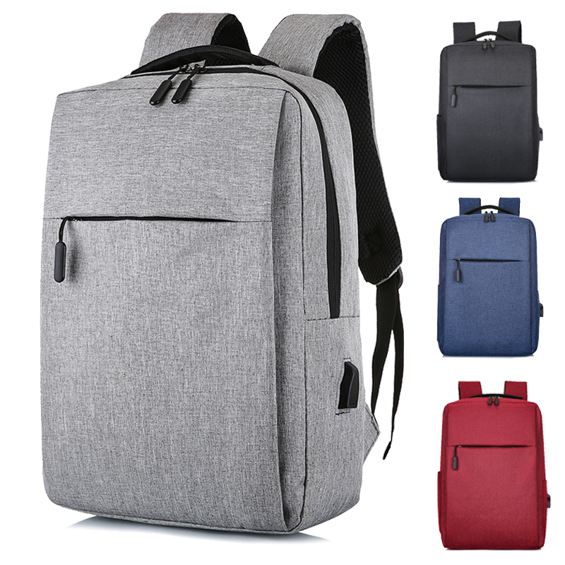Fashion business backpack male high school junior high school students schoolbag simple fashion computer bag women travel backpack