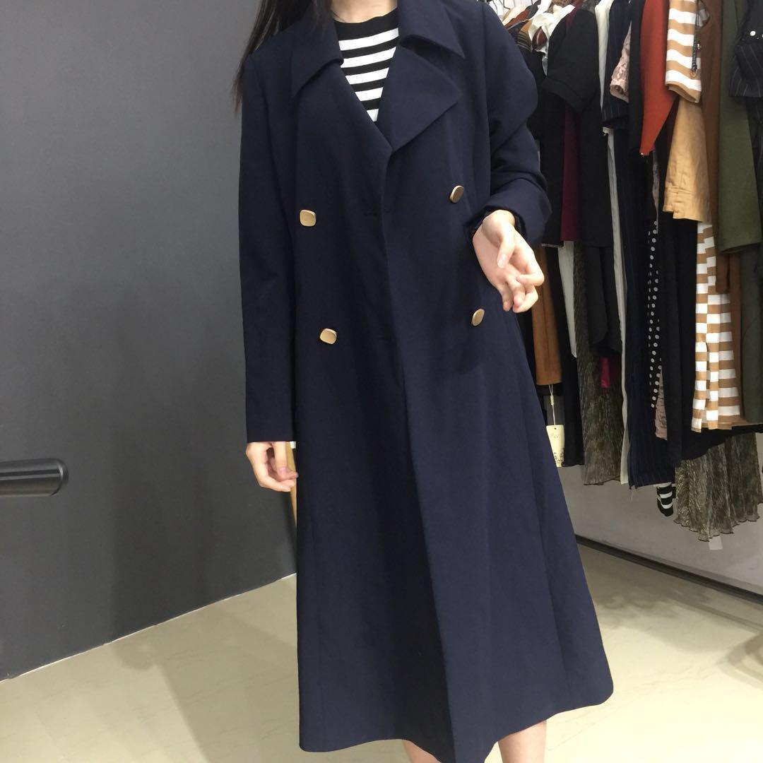 祈漫 珊珊 时尚简约风衣  c2068 (7.15)