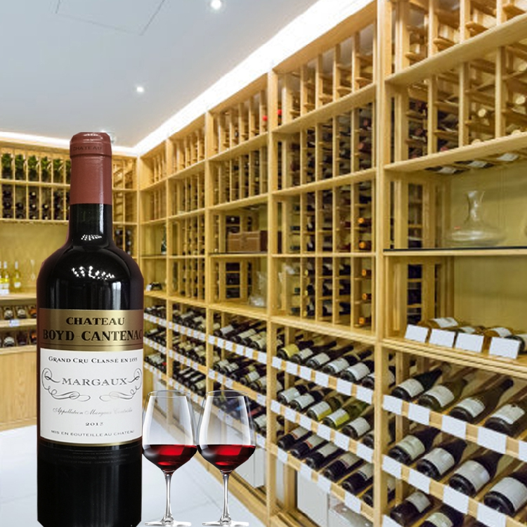 1855 third class chateau, French baccatana, original imported dry red wine, Cabernet Sauvignon