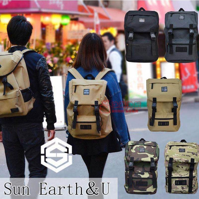 sun earth&u户外背包登山包双肩包男女大容量包 迷彩背包 登山包
