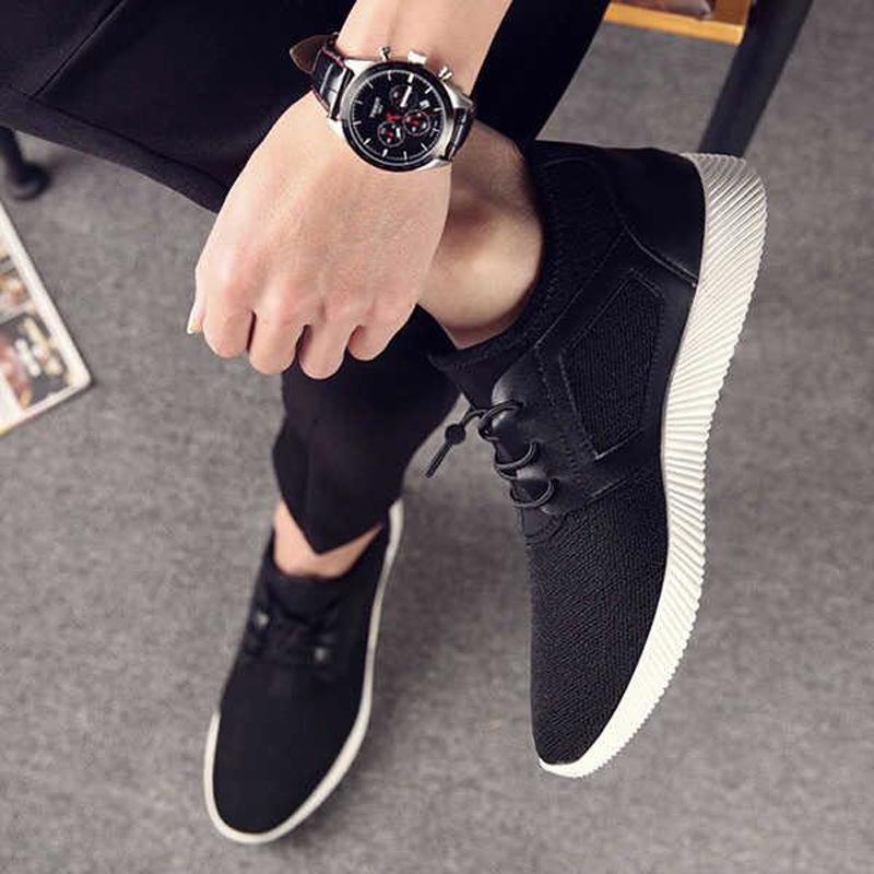 中國代購 中國批發-ibuy99 运动鞋 新款透气运动鞋男装休闲青少年学生男款悠闲板鞋韩版驾车布鞋商务