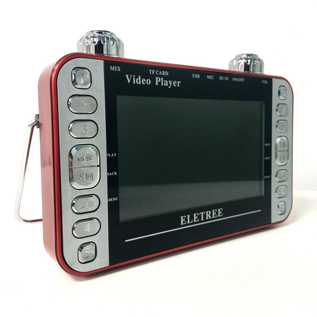 ELETREE EL-777  MP4 PLAYER  5寸/高清视频机可插U盘马来西亚