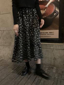馨帮帮秋季新款韩版淑女气质半身裙