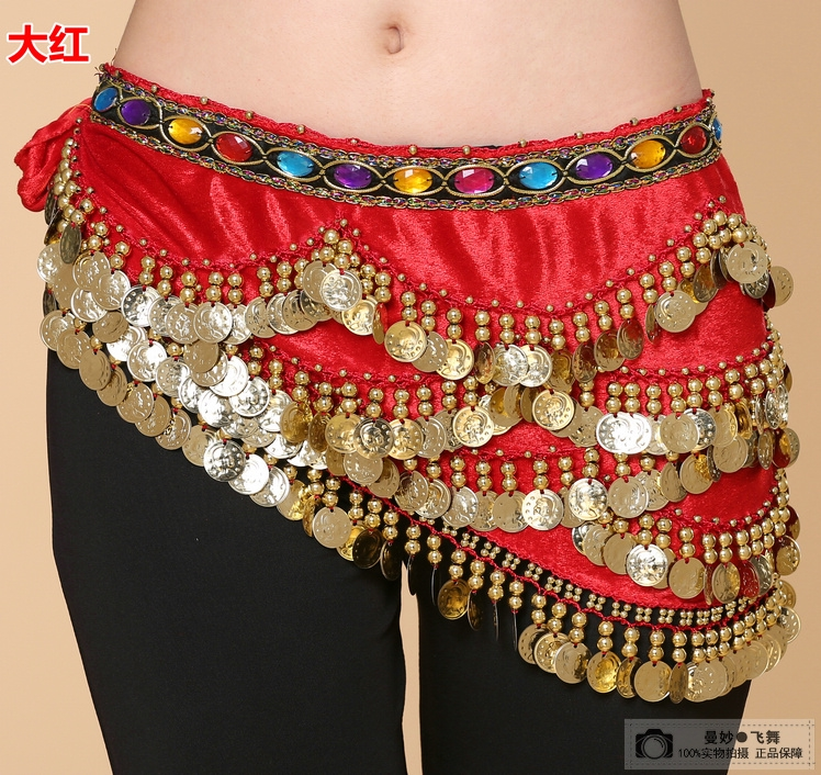 Special price dance show Indian Dance Dress Belt jewel waist chain Nile heavy Yoga Belly Dance waist chain