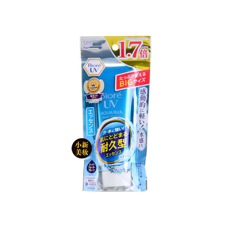 biore碧柔清爽水感UV防晒霜防晒乳SPF50加量1.7倍85g热销0件正品保证