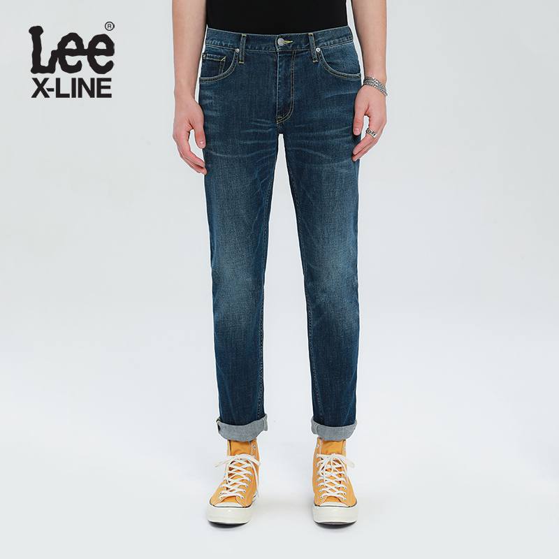 Leexline blue jeans men's 726 straight pants new pants trend in spring and summer 2020 l127263qj85f
