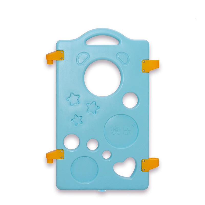 澳樂比比熊寶寶兒童遊戲圍欄 嬰兒爬行墊安全學步護欄柵欄單片