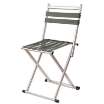 Thickened Folding stool adult Little Mazza Stool Small chair Portable folding chair Mazza Outdoor fishing Chair