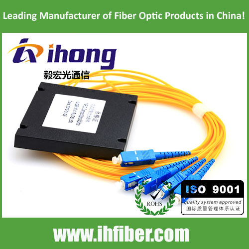 [耦合器 PLC 1x8 PLC Fiber Optic Splitter in ABS Box SC/UPC]