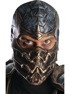 Cosplay performance mask Cosplay mask Latex Mask Adult scorpion fighting King clothing accessories