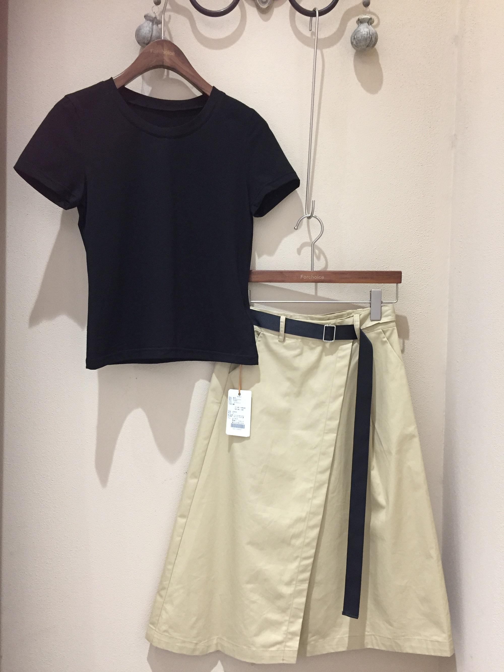 【关注主播+欧洲站FC品牌正品】短袖半裙大牌时尚套装145507230