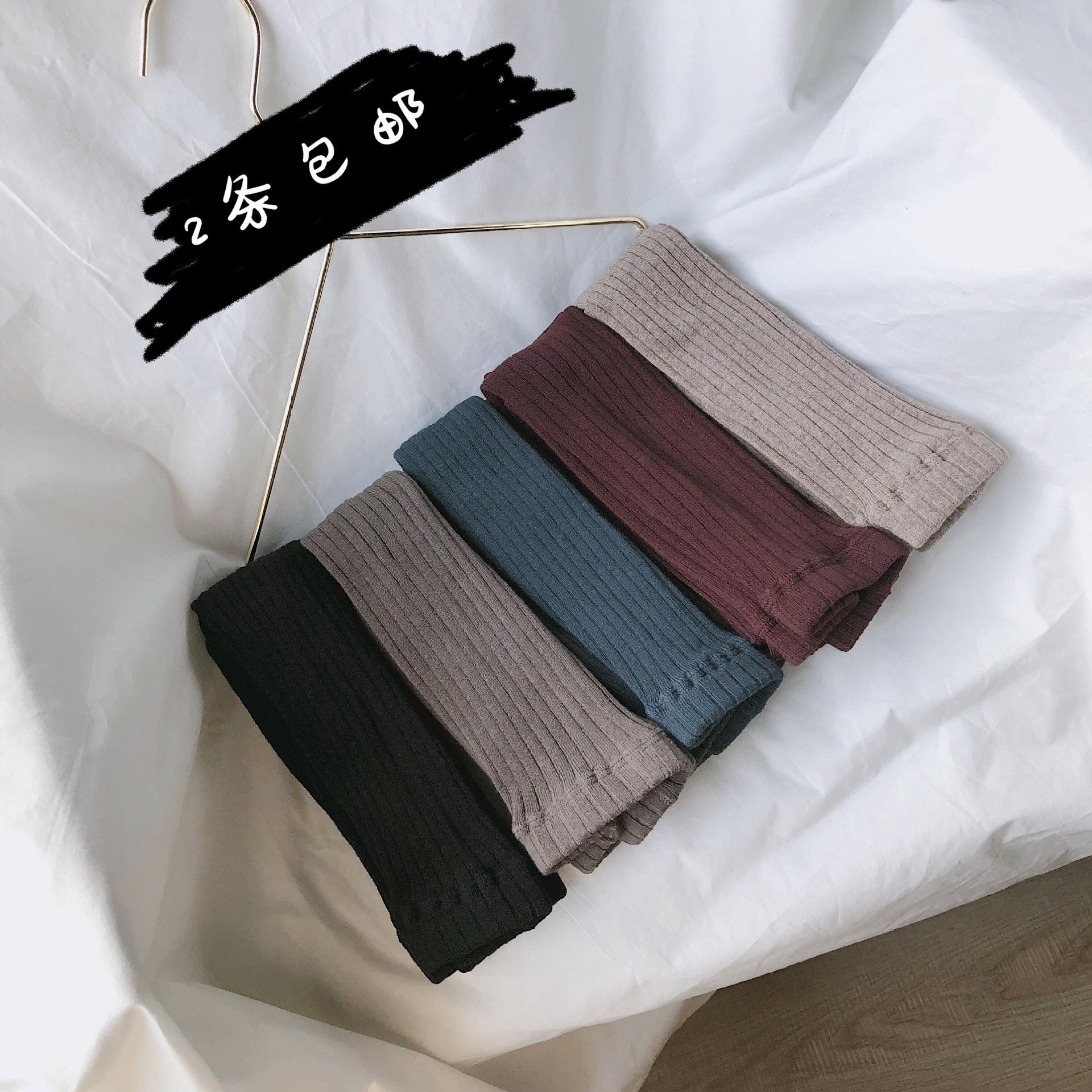 19秋季新品针织男童九分裤纯色长裤
