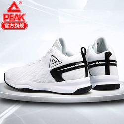 匹克篮球鞋男2019夏季新款织面高帮外场实战耐磨防滑战靴运动鞋男