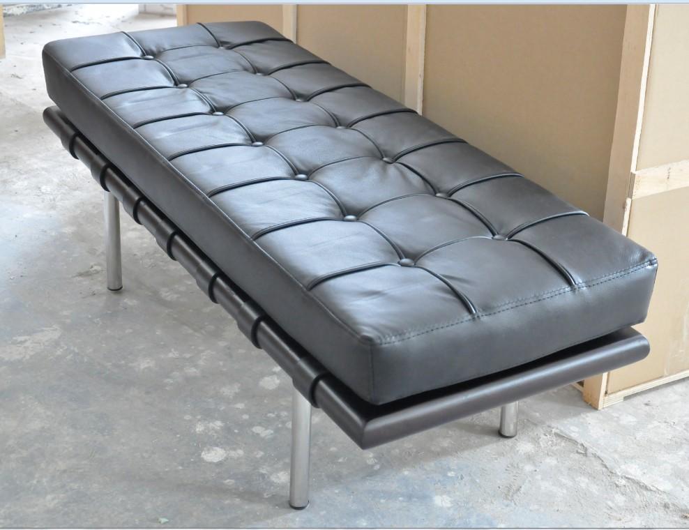 沙发凳 躺椅 经典名椅 沙发椅休息椅午休巴塞罗那躺椅 长凳密斯踏