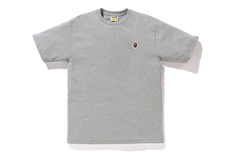 四季出品  BAPE SILICON APE HEAD ONE POINT TEE T恤 20SS