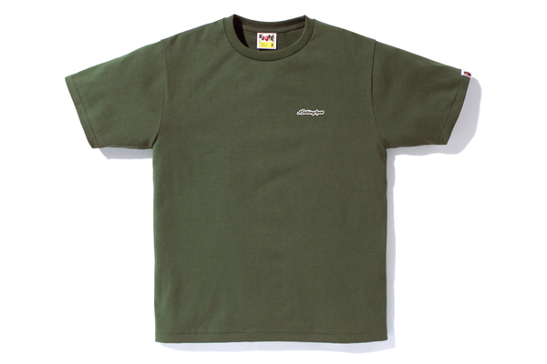 四季出品 现货 A BATHING APE PATCH TEE 字母T恤 17SS 男款