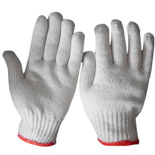 加厚耐磨棉纱男工作纯棉厚款手套