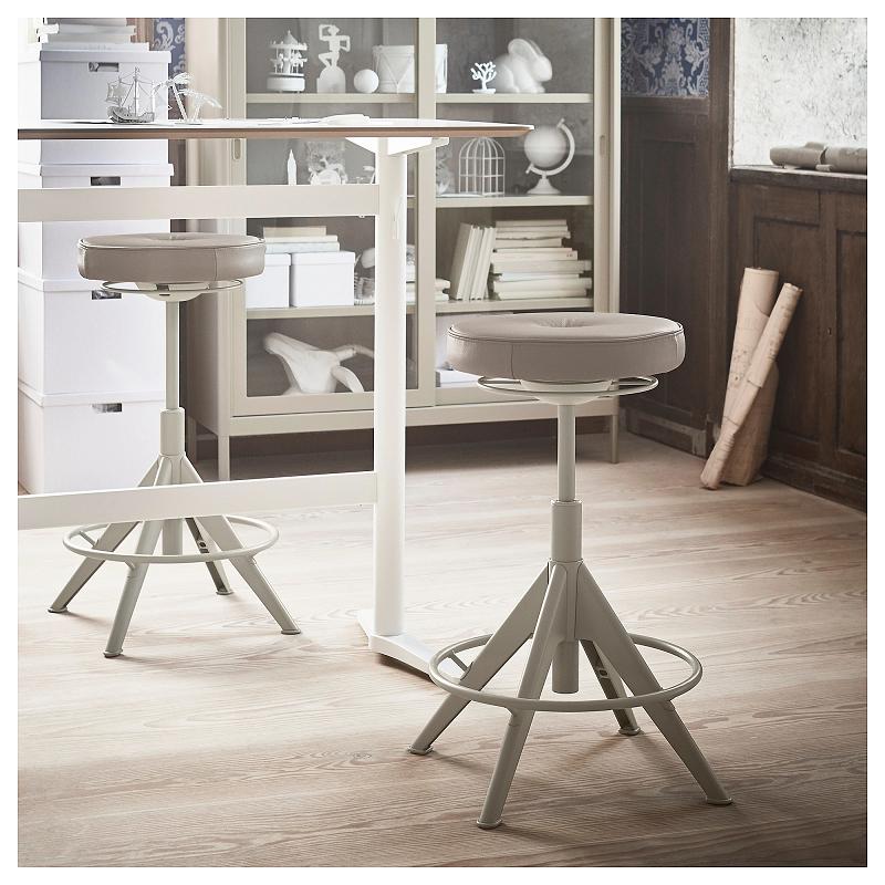 正品宜家代购 IKEA TROLLBERGET 特罗贝里特 椅凳 转椅 66-80厘米