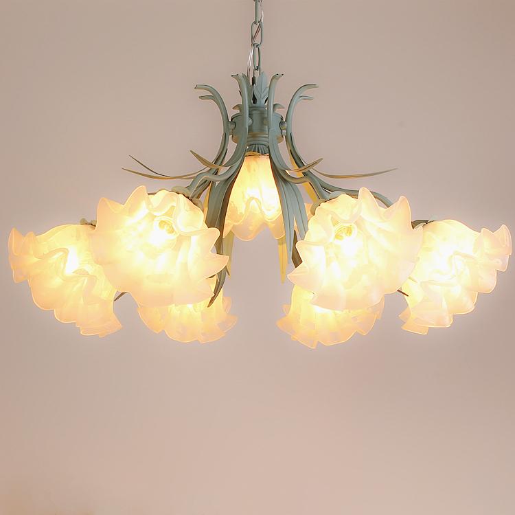 创意卧室客厅韩式铁艺北欧餐厅灯