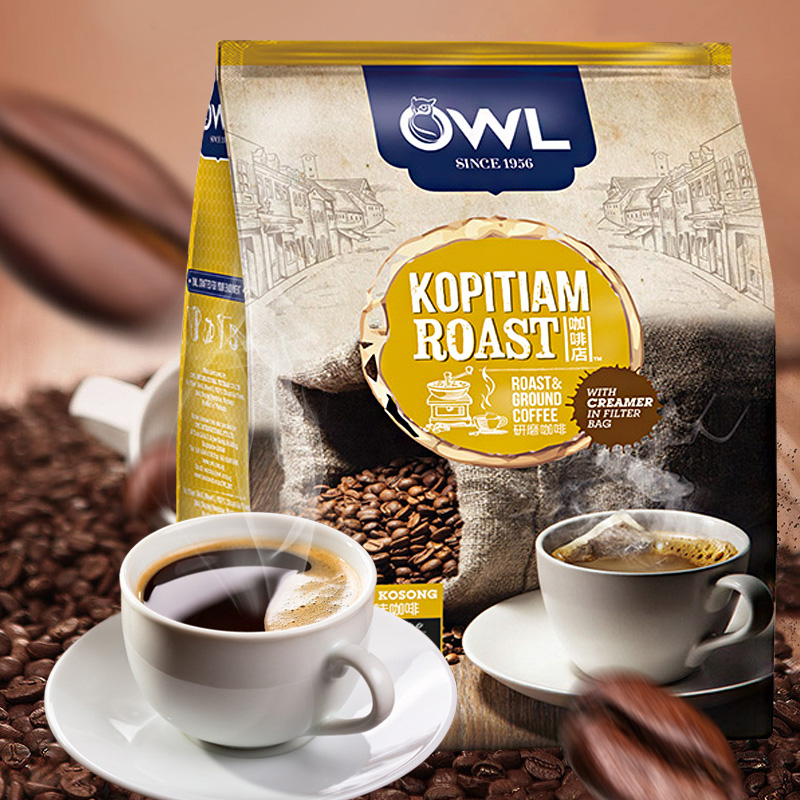[grinding Department] owl owl imported two in one light milk coffee 375g from Vietnam
