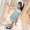 Kids girls summer skirt children lace veil 2017 new Korean female baby dress princess dress tide