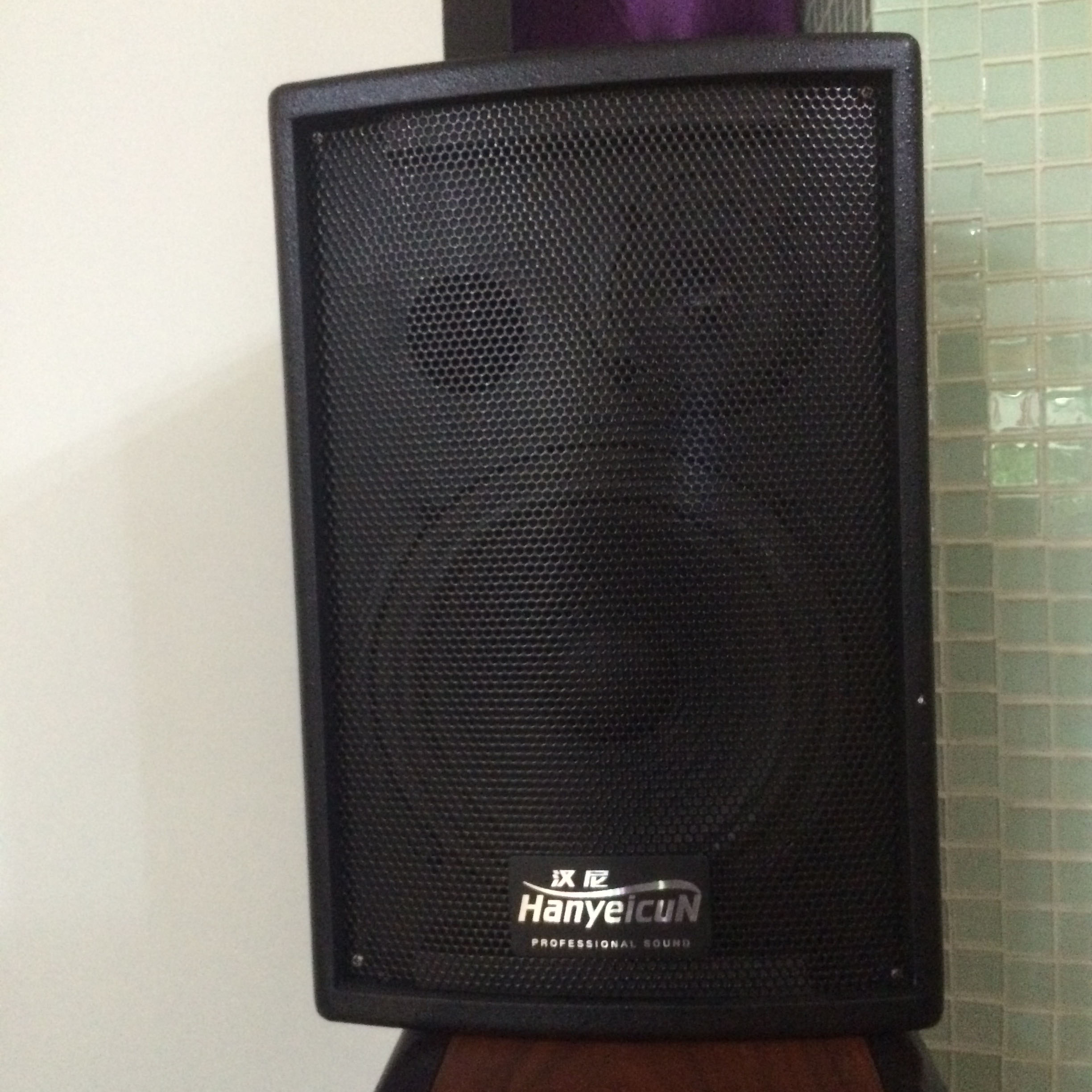 Hanni V-8 wall mounted power amplifier speaker full frequency sound 200W stage theater audio embedded Ceiling Speaker