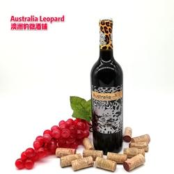 澳洲红酒高度数浓郁醉梦巴罗萨谷原瓶进口黑金石豹西拉干红葡萄酒