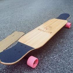 【木雪】SEASON舞板便携款长板竹木混 DC兼平花整板GUYS滑板