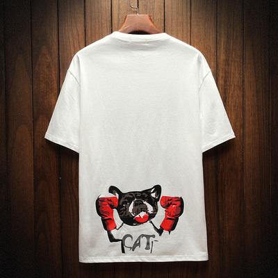日系木纹风休闲男士夏季新款短袖T恤大码 款号T9113 P30【控48】