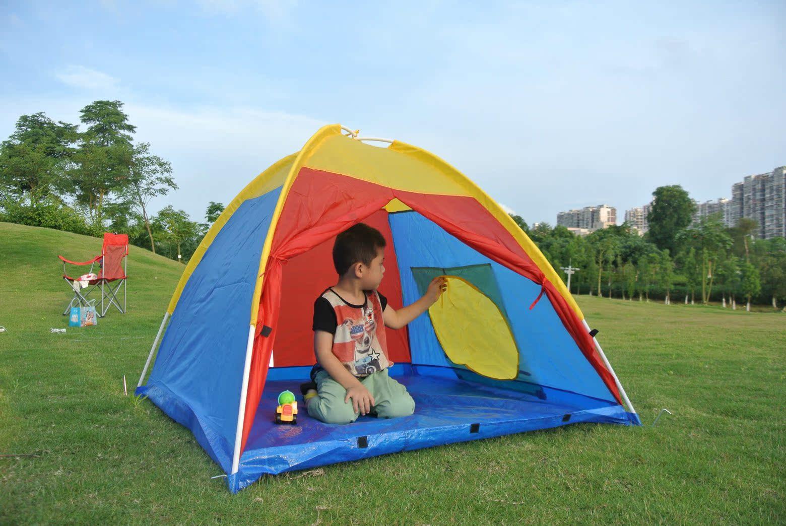 На открытом воздухе ребенок палатка , игра дом палатка , ребенок развлечения небольшой палатка