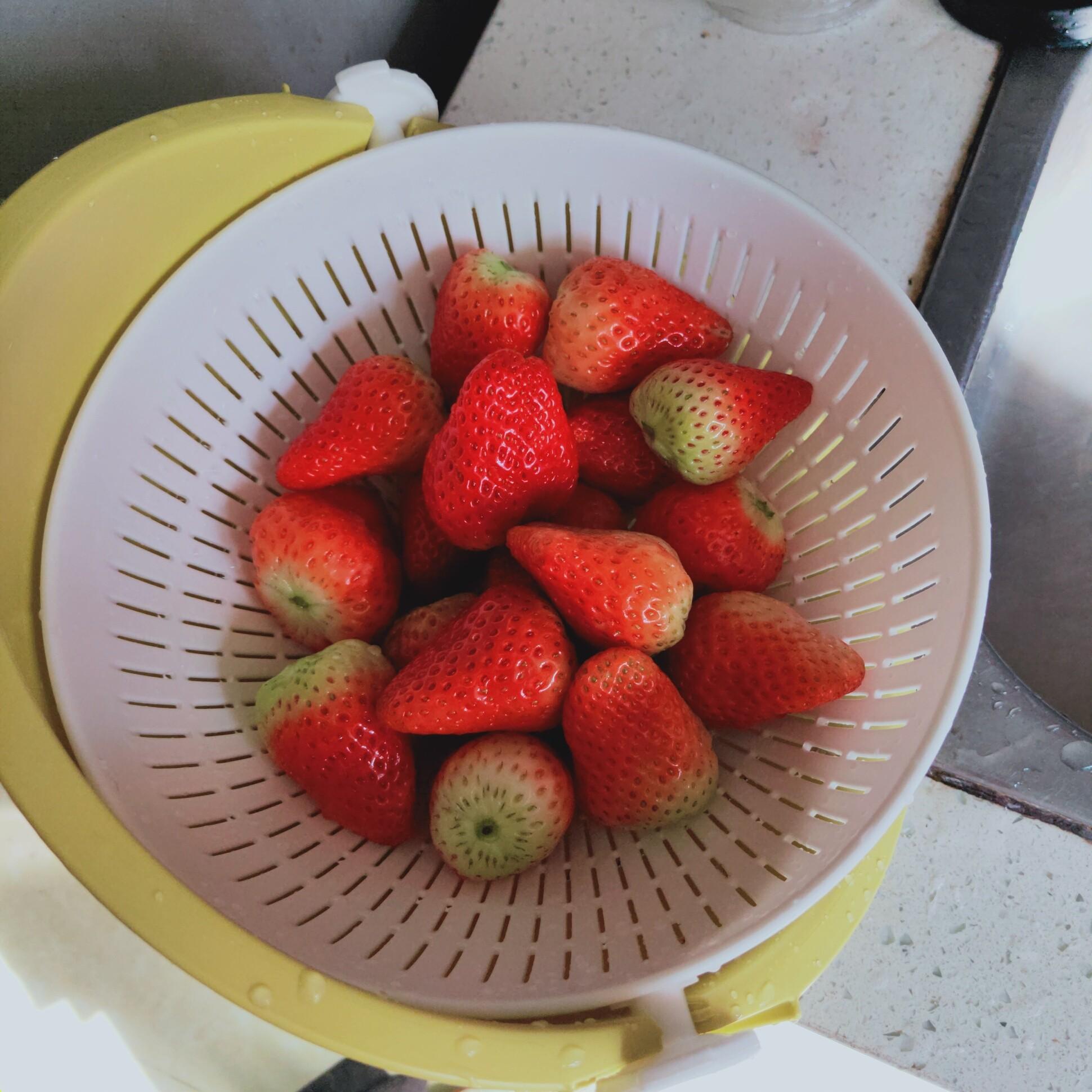 抖音同款:蔬菜水果沥水盆-2