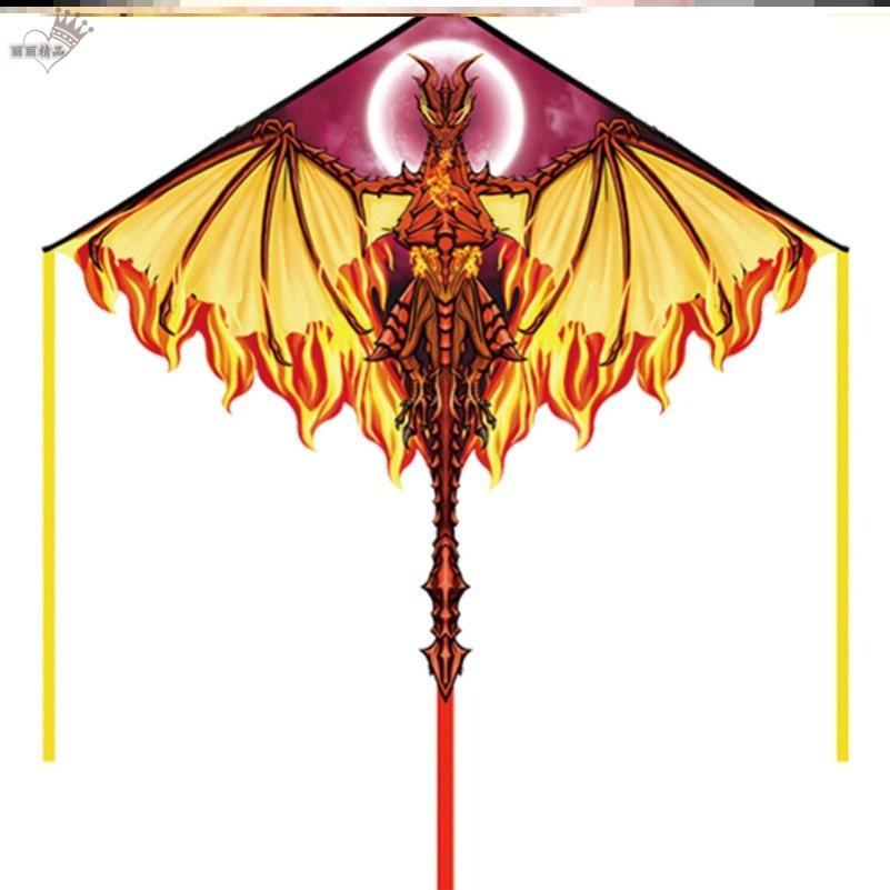 风筝老式用网红大人伞布三角仙女简约尾巴新式可爱轮盘大全运动
