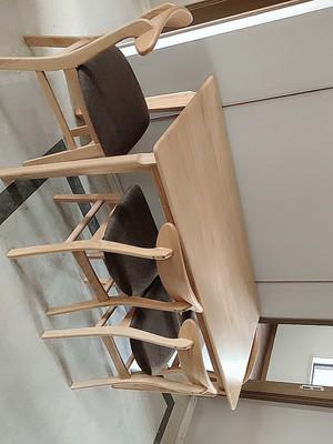 原始原素全实木餐桌椅怎