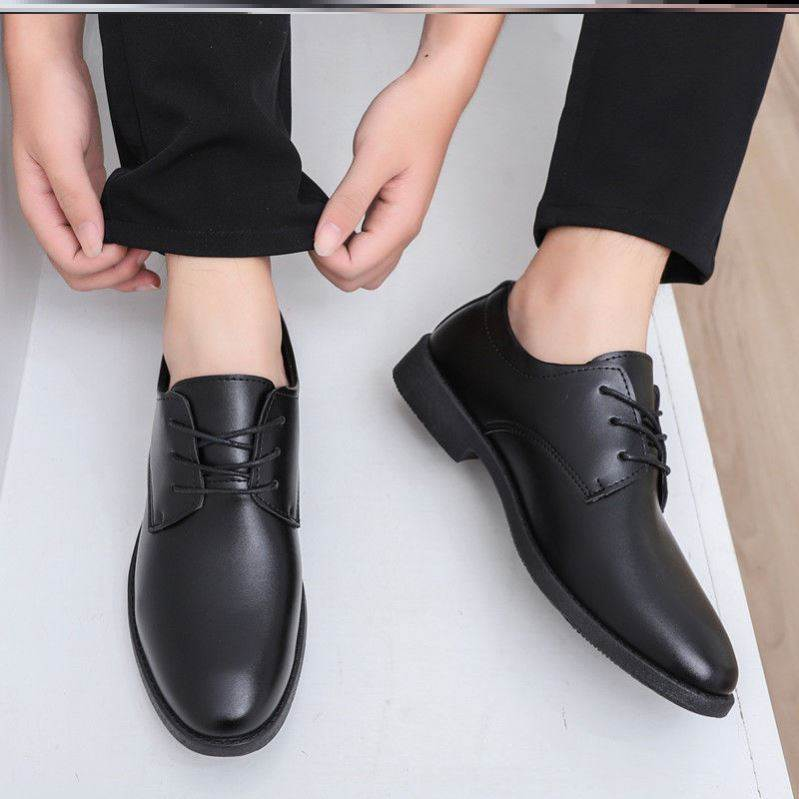 Pointy large formal mens shoes, formal dress, business work, autumn office, all black office, wedding shoes, best man