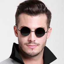 Authentic polarized sunglasses men round sunglasses Prince mirror restoring ancient ways Box small round round sunglasses for men and women sunglasses